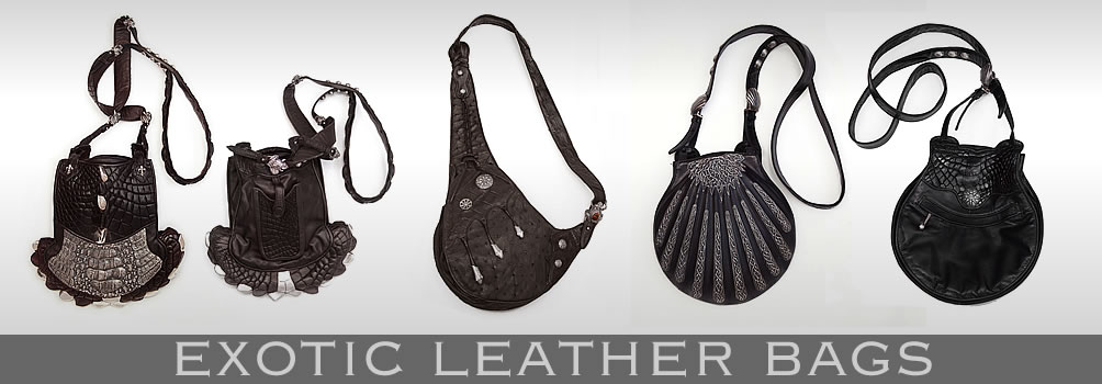 EXOTIC LEATHER BAGS